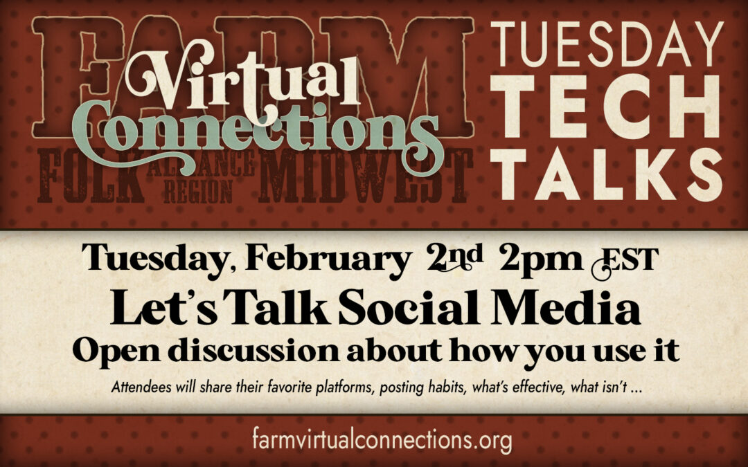 Tuesday Tech Talk – Let's Talk Social Media